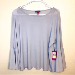 🆕NWT Vince Camuto Bell Sleeve Blouse Lilac Medium